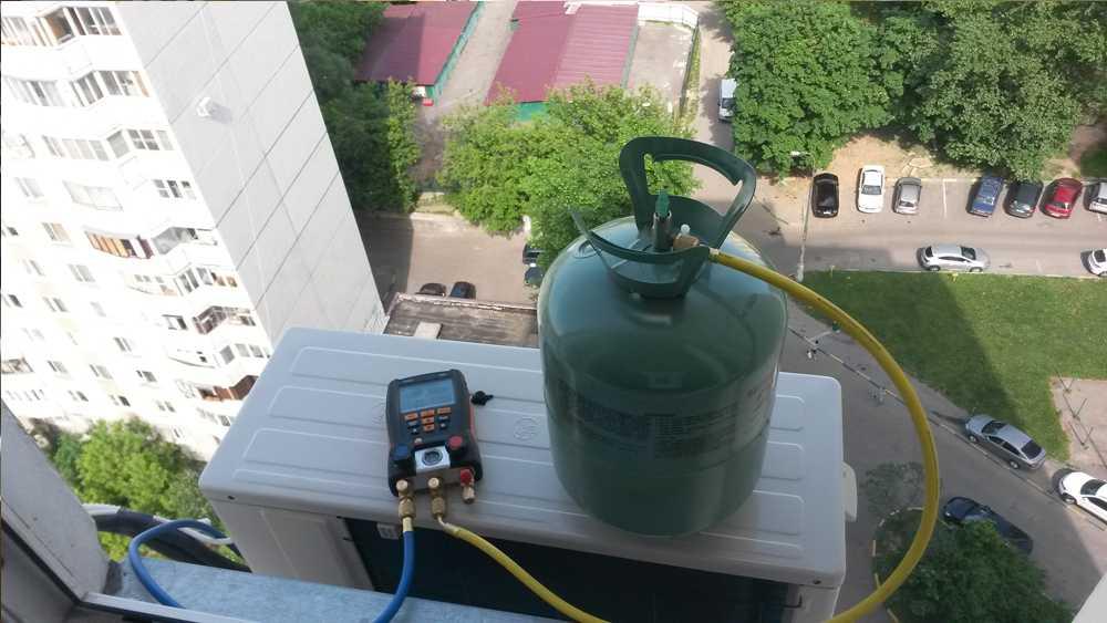 Заправка кондиционеров хладагентом R22
